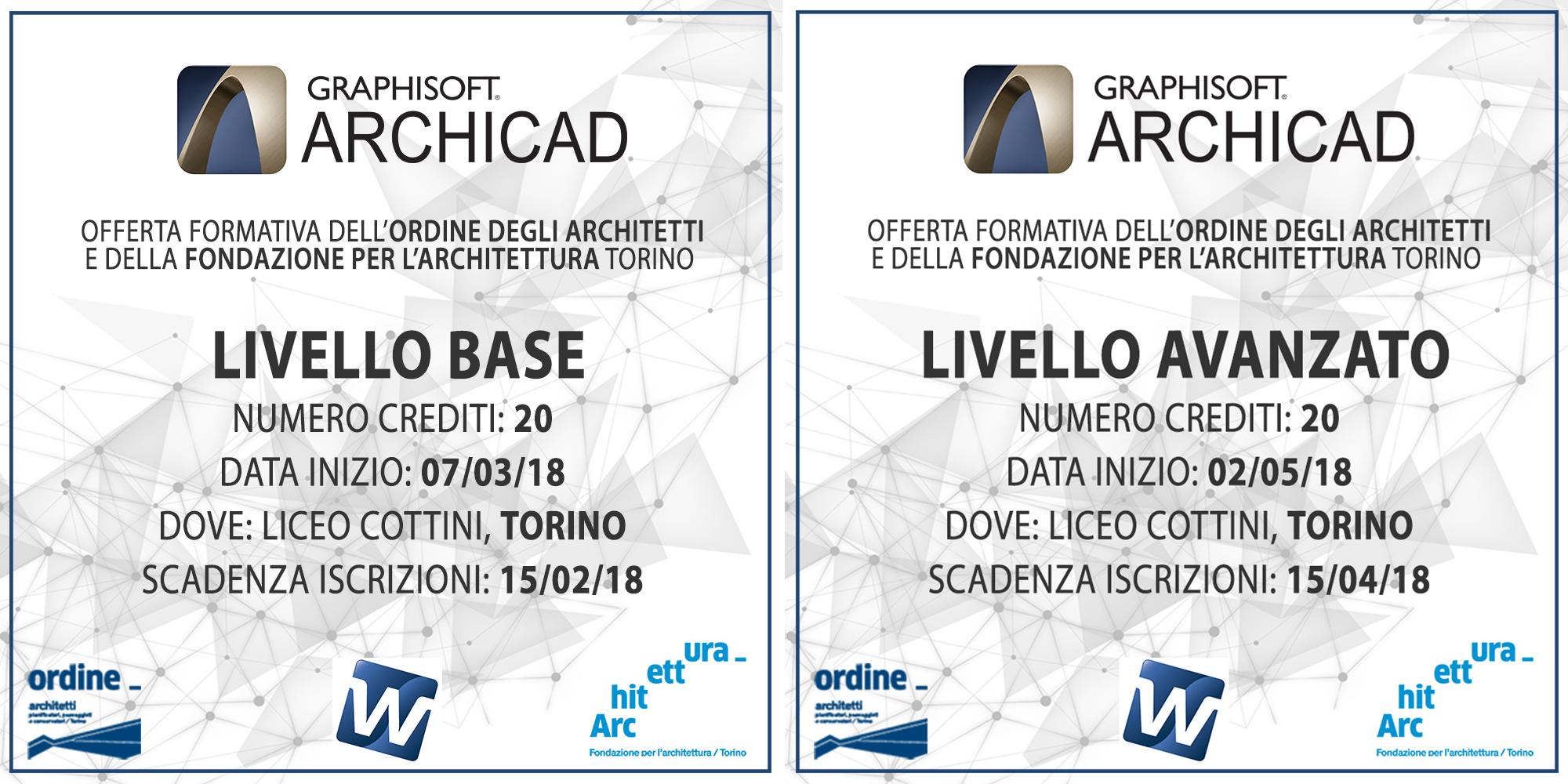 ferta formativa dell Ordine e della Fondazione Architetti P P C della Provincia di Torino
