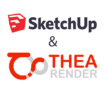 Promo SketchUp e Thea Render