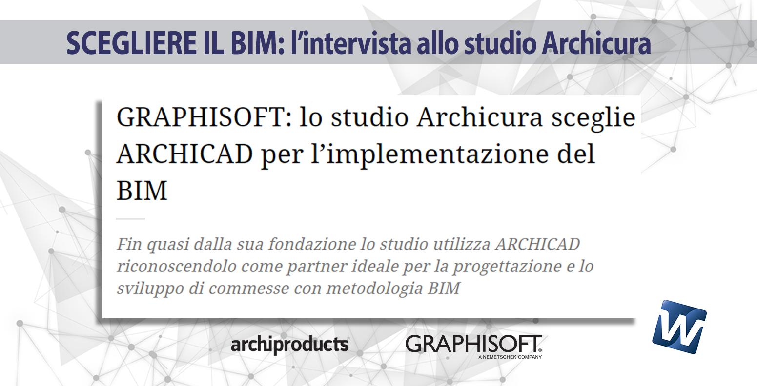 Scegliere il BIM: l'intervista allo studio Archicura